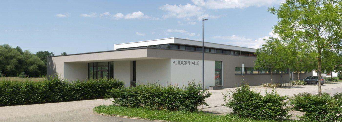 """Altdorfhalle"" Kollmarsreute"