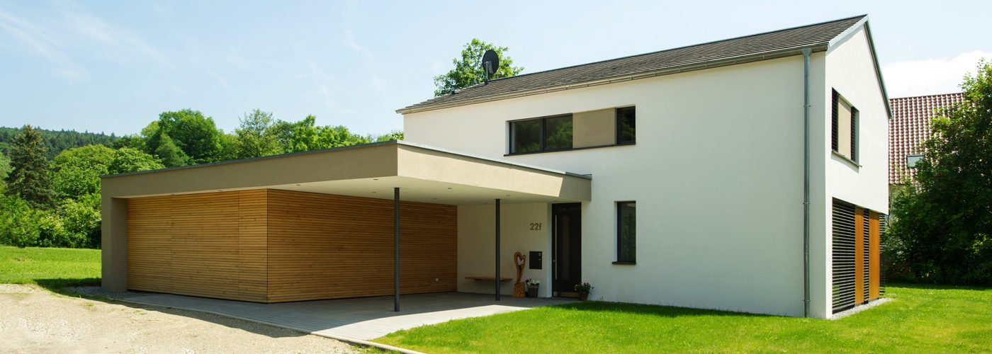Passivhaus in Bombach